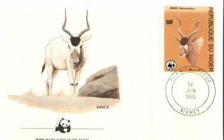 (72429n) Fdc Wwf - Niger - Antelope - 1985 photo