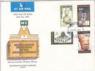 Nigeria - Arts National Museum,  Fdc 1993 photo