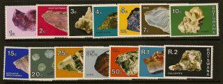 Botswana : 1974 Minerals Unmounted Sg 322 - 35 photo