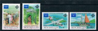 Seychelles 1986 Ameripex 86 Sg 644/7 photo