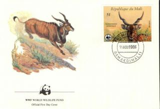 (72369) Fdc - Mali - Eland Antelope - 1986 photo