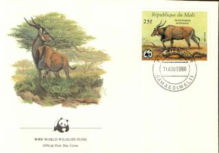 (72372) Fdc - Mali - Eland Antelope - 1986 photo