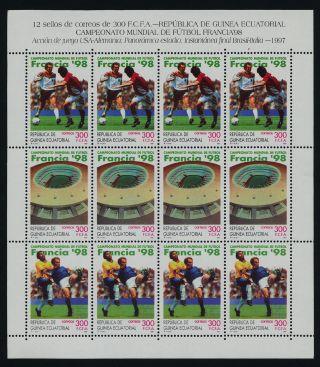 Equatorial Guinea 225 Sheet Sports,  Football photo