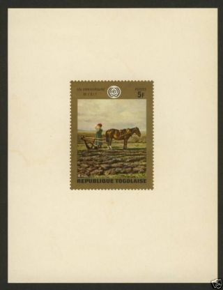 Togo 717 Deluxe Sheet Horse & Plough photo