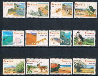 Namibia 2007 Biodiversity 12v Sg 1053/64 photo