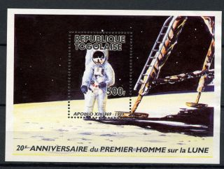 Togo 1989 Sg Ms2067 Landing On Moon Space M/s A60883 photo