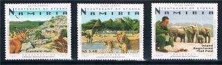 Namibia 2007 Cent.  Of Etosha 3v Sg 1065/7 photo