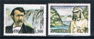 Zambia 2006 David Livingstone Sg 1009/10 photo