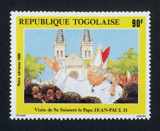 Togo C518 Pope John Paul Ii,  Architecture photo