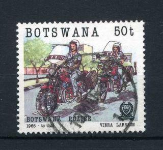 Botswana 1985 50t Botswana Police Sg 585 photo