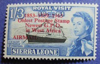 1963 Sierra Leone 1s3d Scott C9 S.  G.  280 Nh Cs08079 photo