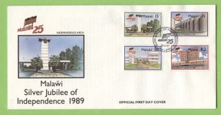 Malawi 1989 Silver Jubilee Of Independence First Day Cover photo