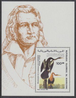 Mauritania - 1985 Audubon Ms Um / photo