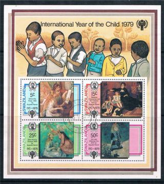 Swaziland 1979 Year Of The Child Ms Sg 322 photo