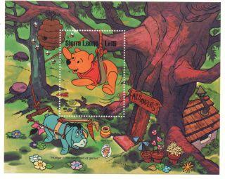 Sierra Leone - Walt Disney - Souvenir Sheet - 738 - - 1985 photo