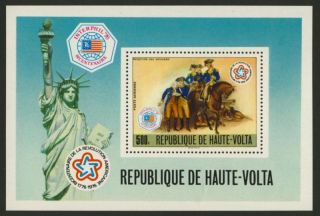 Upper Volta C244 Horses,  Statue Of Liberty photo