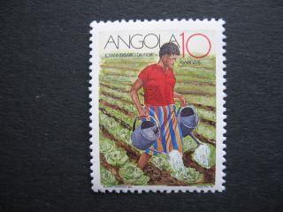 Angola 1990 10th Anniv.  Of Fida Stamp 1pc photo