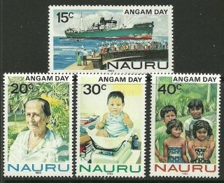 Nauru Sg288/91 1983 Angam Day photo