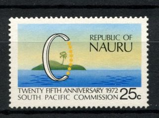 Nauru 1972 Sg 97 South Pacific Commission A68806 photo