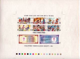 1990 Philippines Phil.  Tb Society,  Inc.