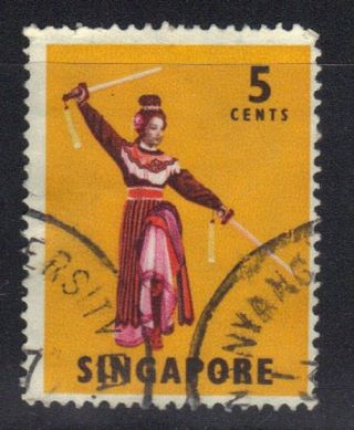 Singapore Stamp Scott 86 Stamp See Photo (2) photo