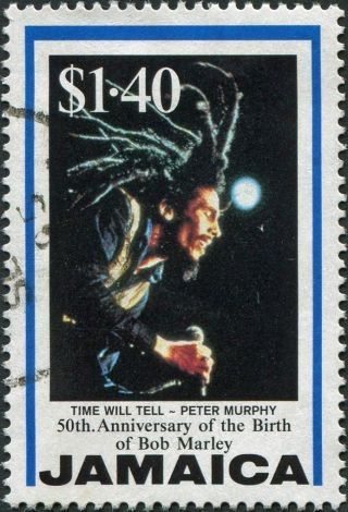 Jamaica 1995 $1.  40 Multicoloured Sg879 Cv £0.  25 Uh Postage photo