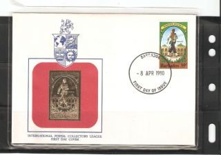 Barbados Fdc 1980,  Postal Collectors League photo