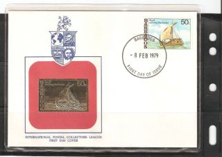 Barbados Fdc 1979,  Postal Collectors League photo