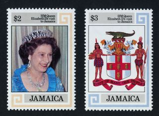 Jamaica 550 - 1 Queen Elizabeth Ii,  Coat Of Arms photo