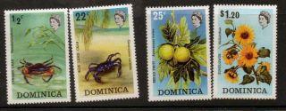 Dominica Sg389/92 1973 Flora & Fauna photo