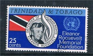 Trinidad & Tobago 1965 Eleanor Roosevelt Sg 312 Vfu photo