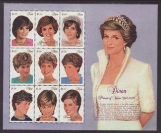 Nevis Princess Diana 1030 Vf (12885) photo
