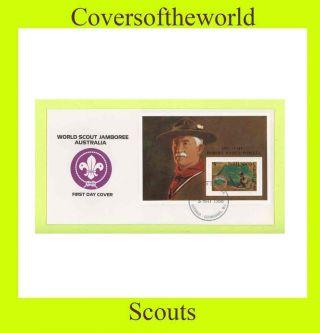 Grenada Grenadi 1988 Scouts Jamboree,  Australia M/s Fdc photo