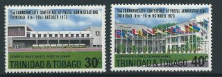 Trinidad & Tobago Sg445/6 1973 Commonwealth Games photo