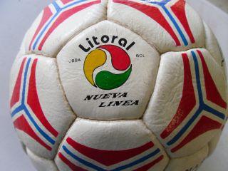 Vintage World Cap 2002 (bolivia Team) Football Soccer Ball Fifa Rare photo
