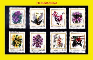 Venezuela 1970 Flora Flowers Yv 806 - 9ae1007 - 10 Mi 1839 - 46 photo