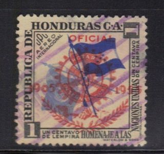 Honduras Air Mail Stamp Scott C231 Overprint Stamp See Photo photo