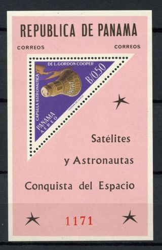 Panama 1964 Sg Ms873 Space Exploration M/s A60839 photo