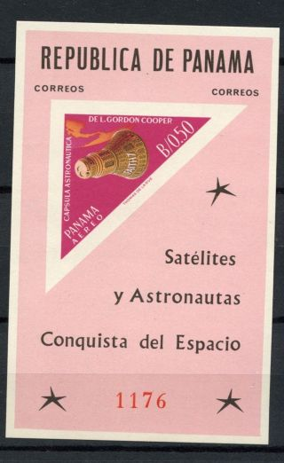 Panama 1964 Sg Ms873a Space Exploration Imperf M/s A60840 photo