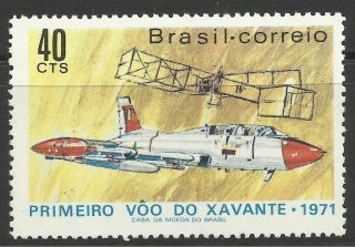 Brazil.  1971.  1st Flight Of