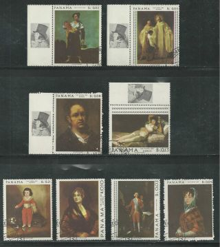 Panama 481 - 481g Paintings By Goya photo