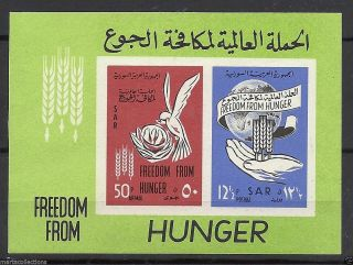 Syria1963 Freedom From Hunger Block photo