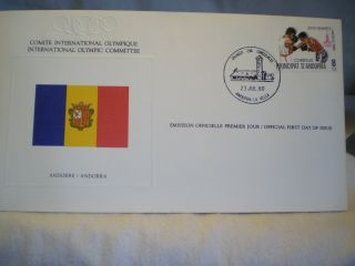 198o Moscow Summer Games First Day Issue Envelopes photo