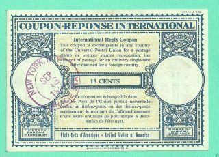 Coupon Reponse International United States Of America (york) C4 photo
