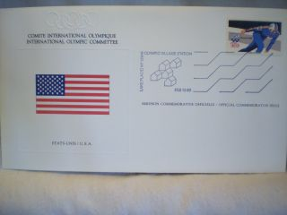 198o Lake Placid Winter Games First Day Issue Envelopes photo