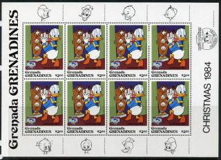 Grenada Grenadines 634 Sheet Disney,  Donald Duck photo