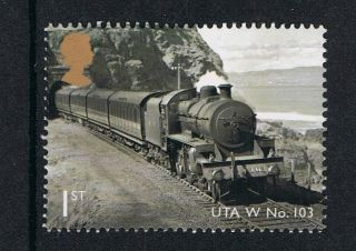 Classic Locomotives Northern Ireland Uta Class 103 On 2013 British Stamp Nh photo