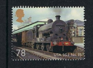 Classic Locomotives Northern Ireland Uta Sg3 Class 35 On 2013 Gb Stamp Nh photo