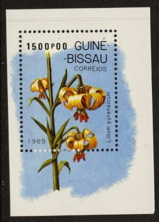 Guinea - Bissau 794 Flower,  Lily photo