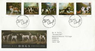 8 January 1991 Dogs Crufts Anniversary Royal Mail First Day Cover Bureau Shs (a) photo